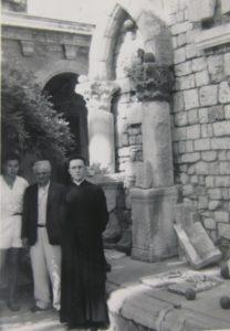 Fernand Benoit, Paul-Albert Février et Raymond Boyer à Lérins © Yann Codou