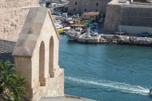 L'entrée du Vieux-Port