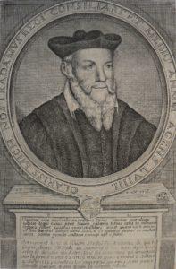 Michel Nostradamus (J Cl Cundier facit à Aix 1706). © Thierry Pécout