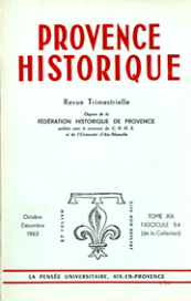 1963, tome 13, 54 « Mélanges Joseph Billioud  »