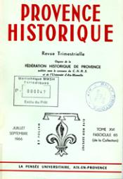 1966, tome 16, 65 « Histoire de l'abbaye Saint-Victor de Marseille  »