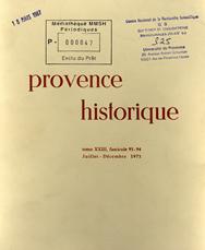 1973, tome 23, 93-94 « Mélanges Édouard Baratier »