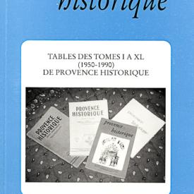1991, tome 41, 165 « Soixante Ans d'histoire de la Provence (2) »