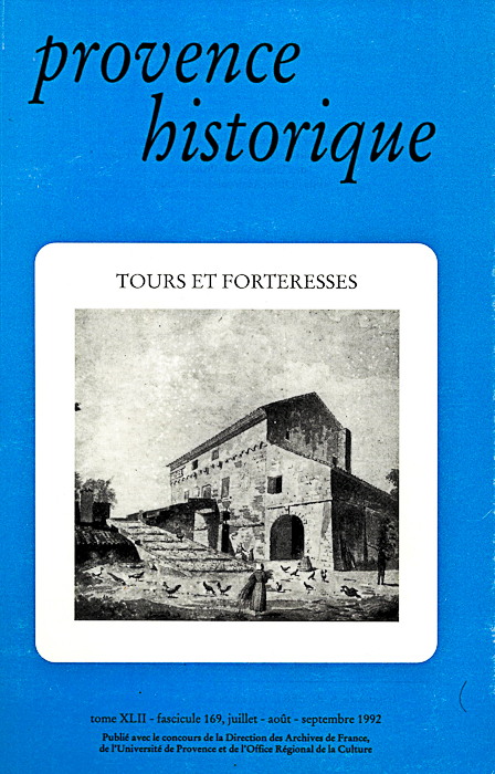 1992, tome 42, 169 « Tours et forteresses »