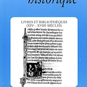 1993, tome 43, 171 « Livres et bibliothèques (XIVe-XVIIIe siècles) »