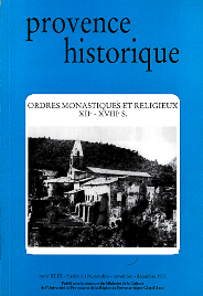 1993, tome 43, 174 « Ordres monastiques et religieux (XIIe-XVIIIe s.) »