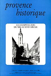 1995, tome 45, 179 « Les Hospitaliers du XIIe au XVIIe siècles »
