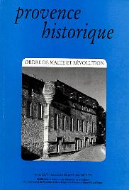 1995, tome 45, 180 « Ordre de Malte et Révolution »