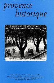 1997, tome 47, 187 « La sociabilité dans la France méditerranéenne  »