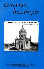 1997, tome 47, 188 « Le provençal, langue et histoire »