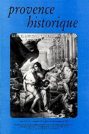 1997, tome 47, 189 « La peste en Provence aux Temps modernes »