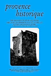1999, tome 49, 195-196 « De Provence et d'ailleurs. Mélanges offerts à Noël Coulet »