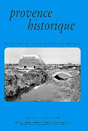 2000, tome 50, 200 « Économie et société XVIIe-XIXe siècles »