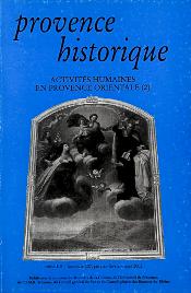 2002, tome 52, 207 « Activités humaines en Provence orientale (2) »