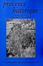 2003, tome 53, 214 « Rencontres italo-provençales (2) »